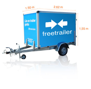 Så lånar du gratis släpvagn!